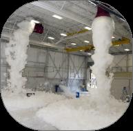 Foam water sprinkler systems